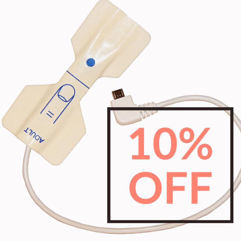 Disposable Sensor Multi-Pack, SleepSat (10-Count)