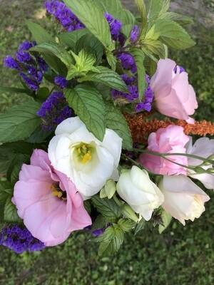 Mixed Lisianthus Bouquet