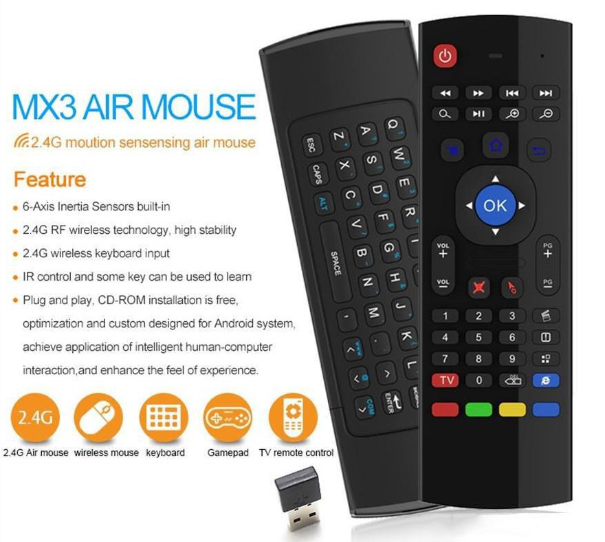 Air Mouse @ keyboard with backlit