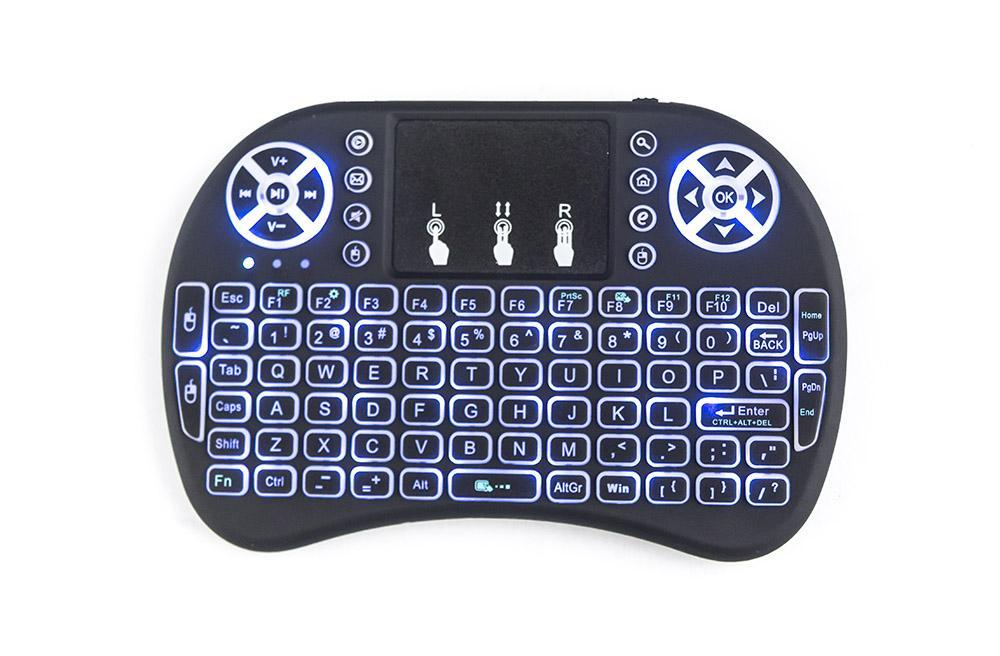 Back-lit mini Keyboard and mouse