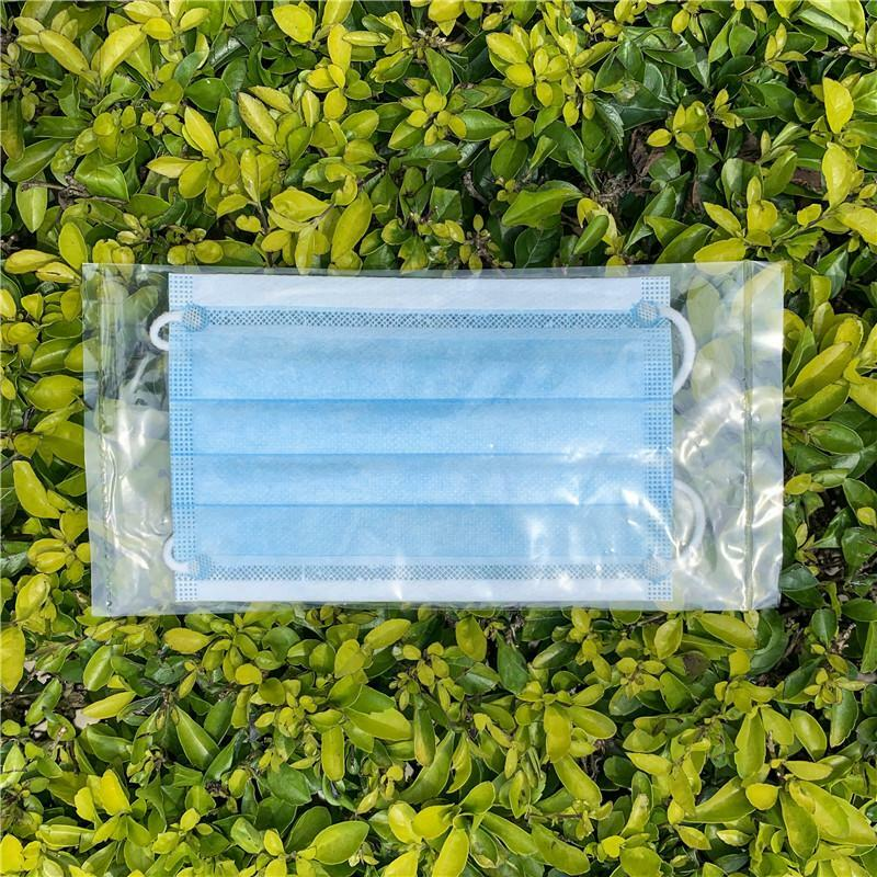 Disposable Face Masks with Three Layer Protection of 10
