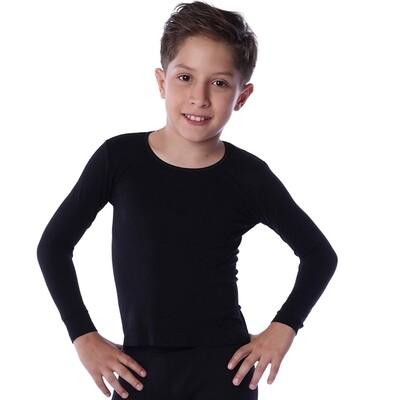 Playera térmica para juvenil niño edades de 12 a 16 años