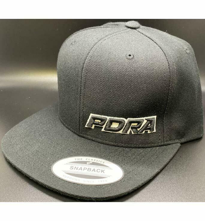 PDRA Logo Snap Back Hats