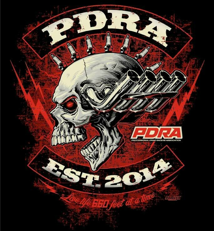 PDRA Skull Design T-Shirt