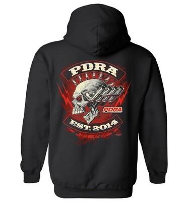 PDRA Skull Design Hooded Sweatshirt