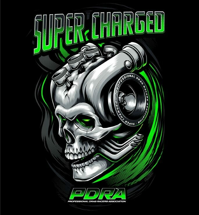 Supercharged Engine Design T-Shirt
