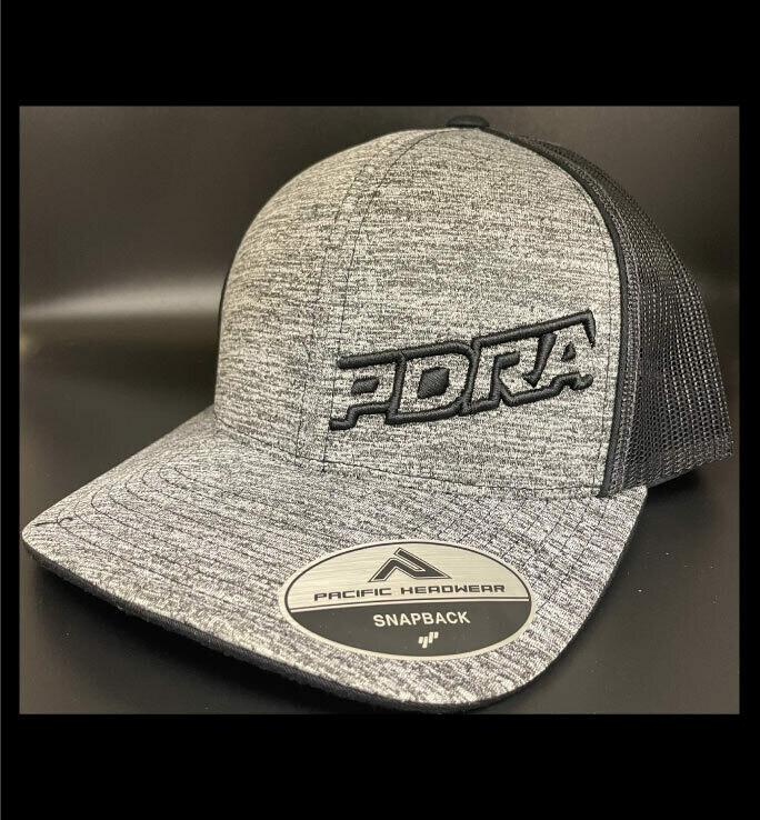 PDRA Logo Heather Trucker Hats