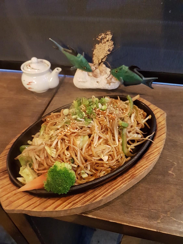 Veggie Yaki Soba