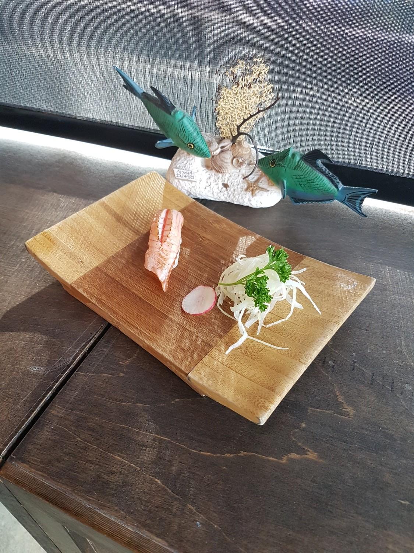 Grilled Salmon Toro