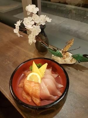 Salmon & Tuna Don (10 pcs)