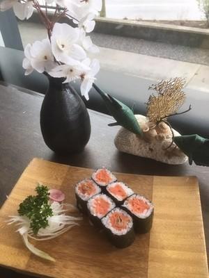 Smoked Salmon Maki