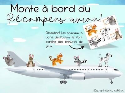 Récompens-avion - Suppléance