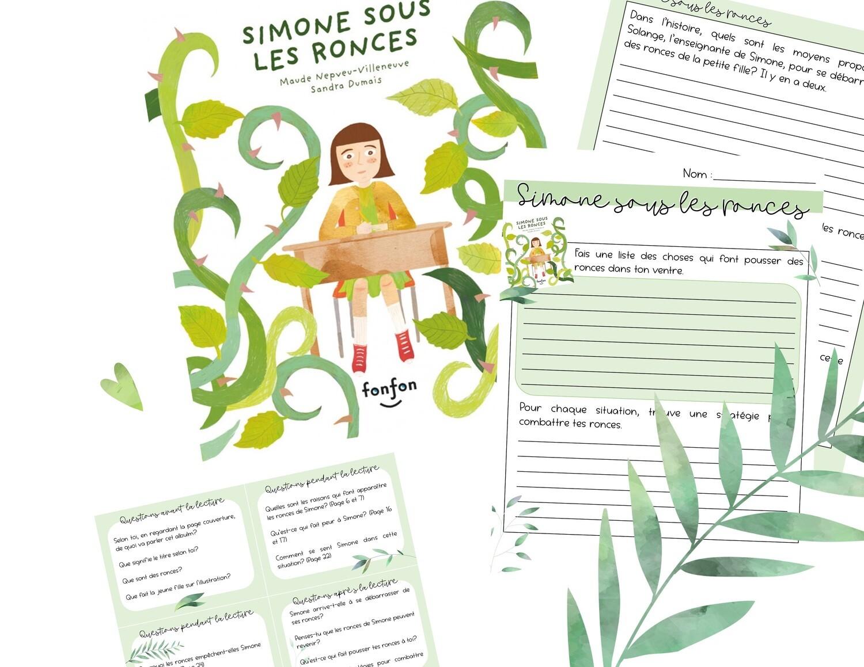 Simone sous les ronces - Retour littéraire