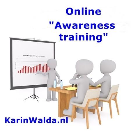 Online Awareness training by KarinWalda.nl