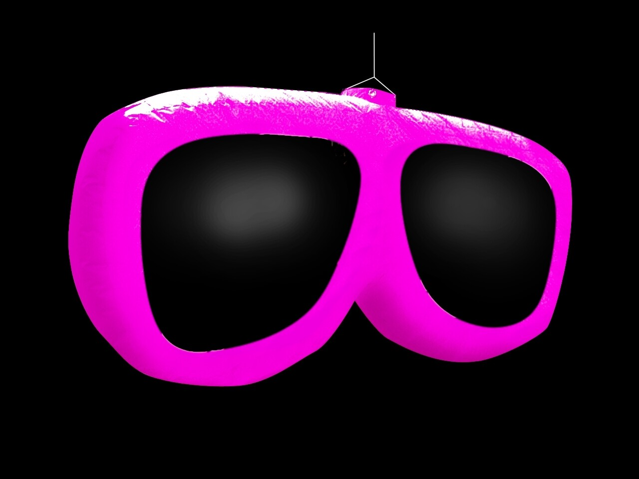 Hanging Inflatable Sunglasses 8.2ft/250cm x 3.9ft/120cm