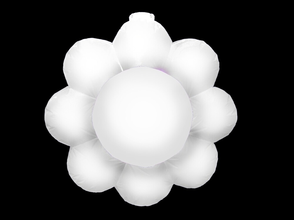 Hanging Inflatable Flower 4ft/122cm x 4ft/122cm