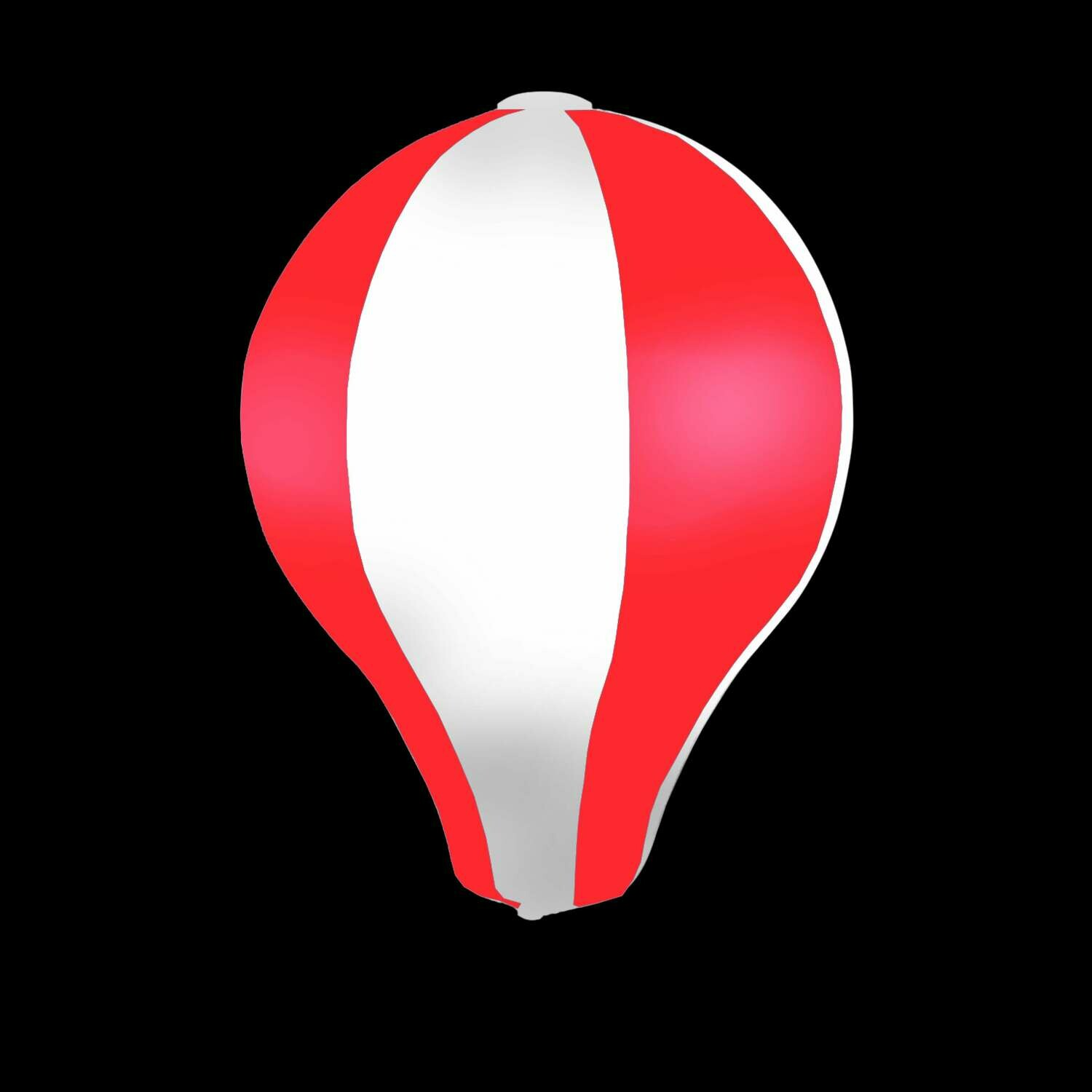 Hanging Inflatable Hot Air Balloon 6.4ft/195cm x 8.5ft/260cm