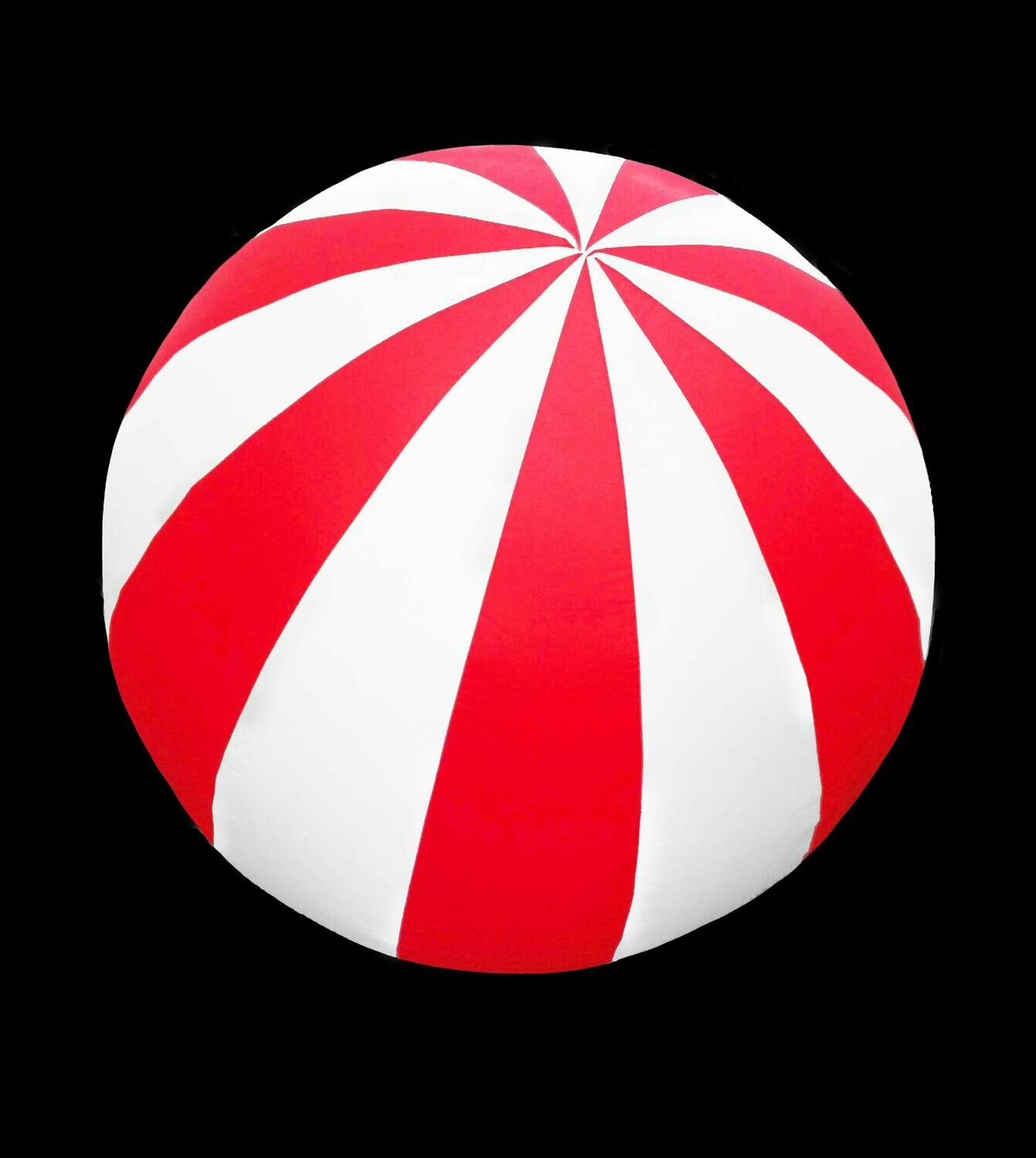 Hanging Inflatable Circus Ball Extra Stripy Spheres 4ft/122cm diameter