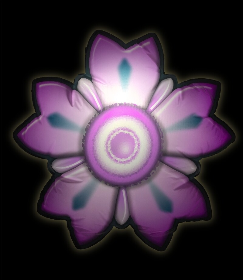 Hanging Inflatable Flower Lux 3.5ft/108cm x 3.5ft/108cm