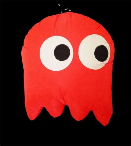 Hanging Inflatable Pac-Ghost 4ft/122cm x 5ft/152cm