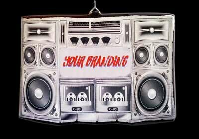 Hanging Inflatable Boombox 4.6ft/141cm x 3ft/91cm