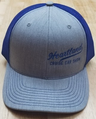 Hat with Small Print on Left