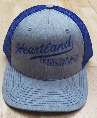 Hat with Large Print in Center