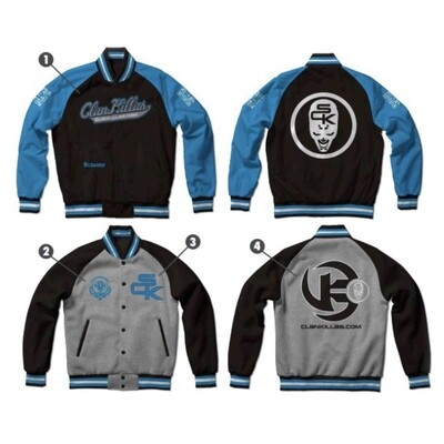 Clan Killas®: REVERSIBLE™ LETTERMAN