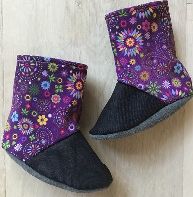 Butterfly soft sole boots