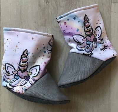 Unicorn soft sole boots