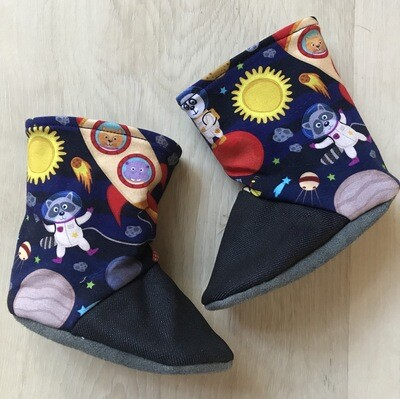 Space Raccoon soft sole boots