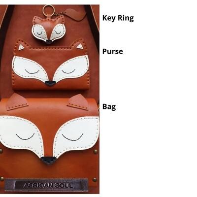 African Soul Foxy handbag/purse/keyring