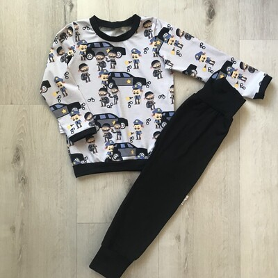 Cops and Robbers PJ set