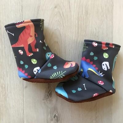 Dinosaur soft sole boots