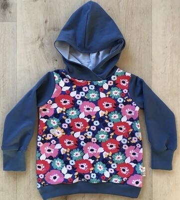 Floral hoody