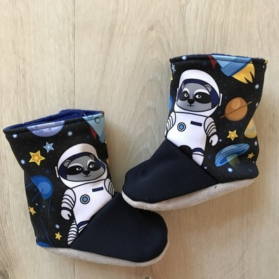 Space adventure soft sole boots