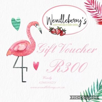 Gift voucher R300