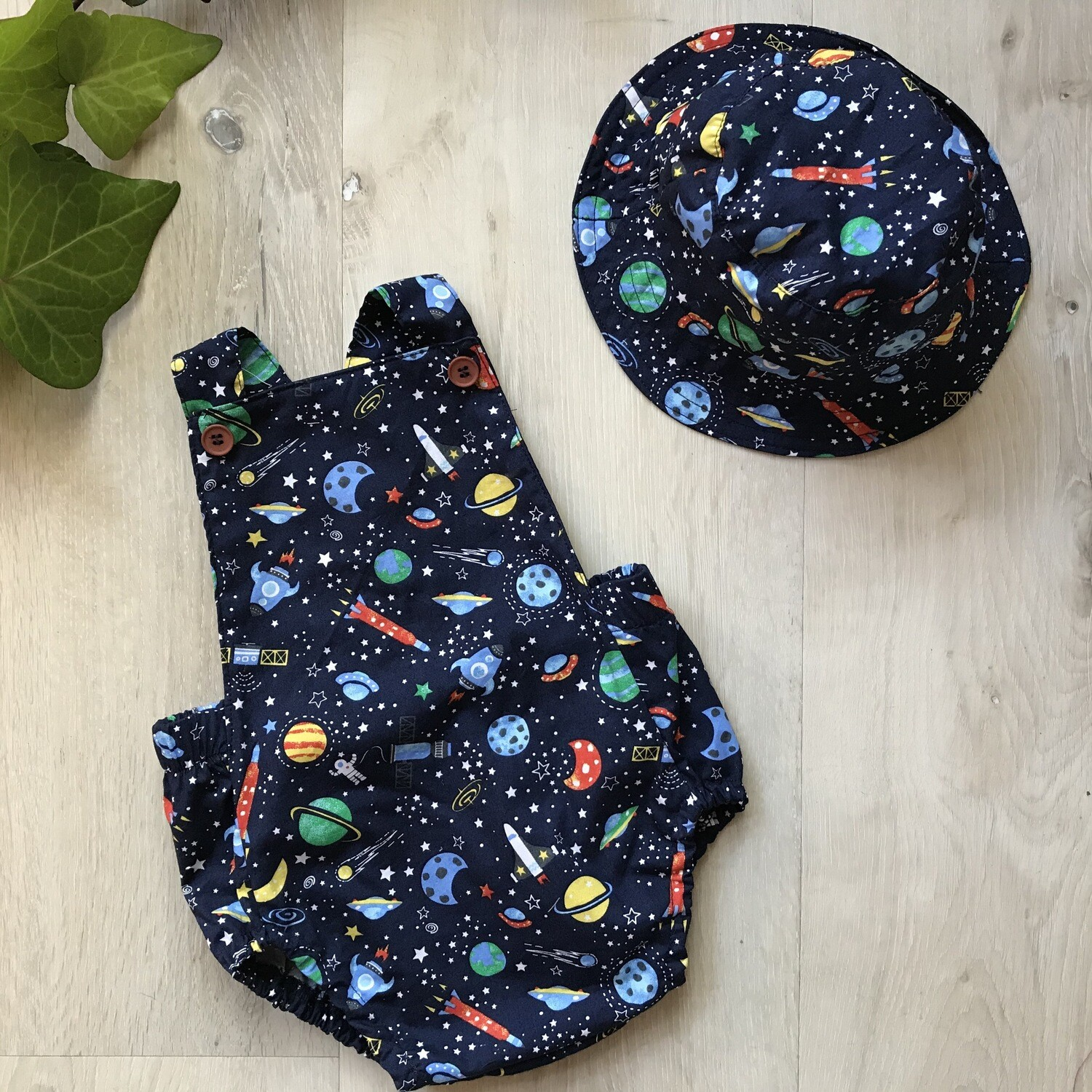 Space summer romper