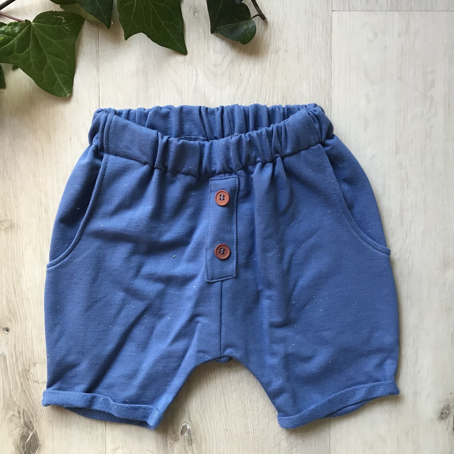 Royal blue lounge shorts