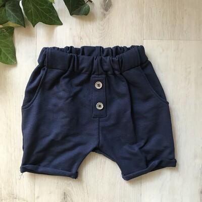Navy lounge shorts