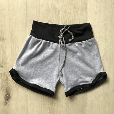 Grey with black Retro shorts