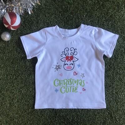 Christmas cutie tshirt