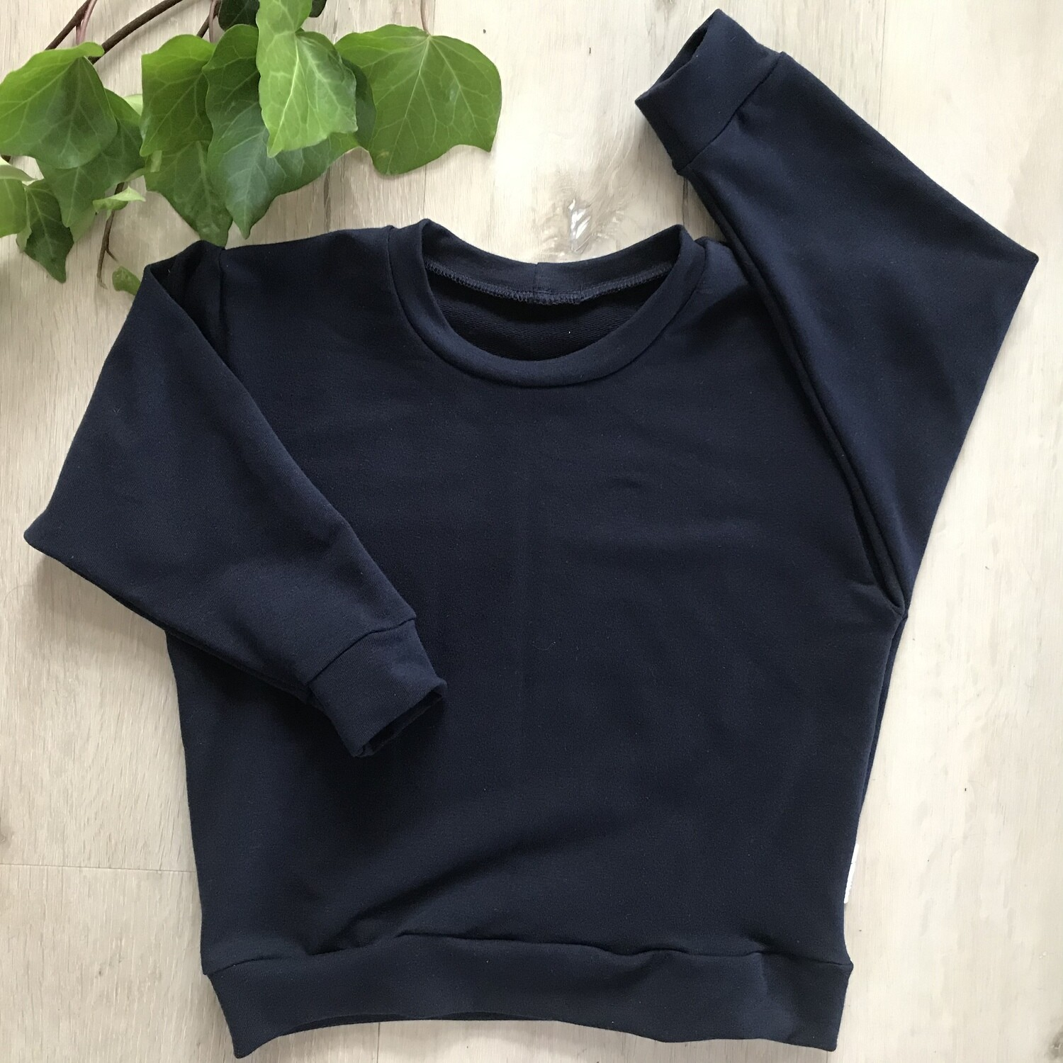 Navy blue lounge sweater