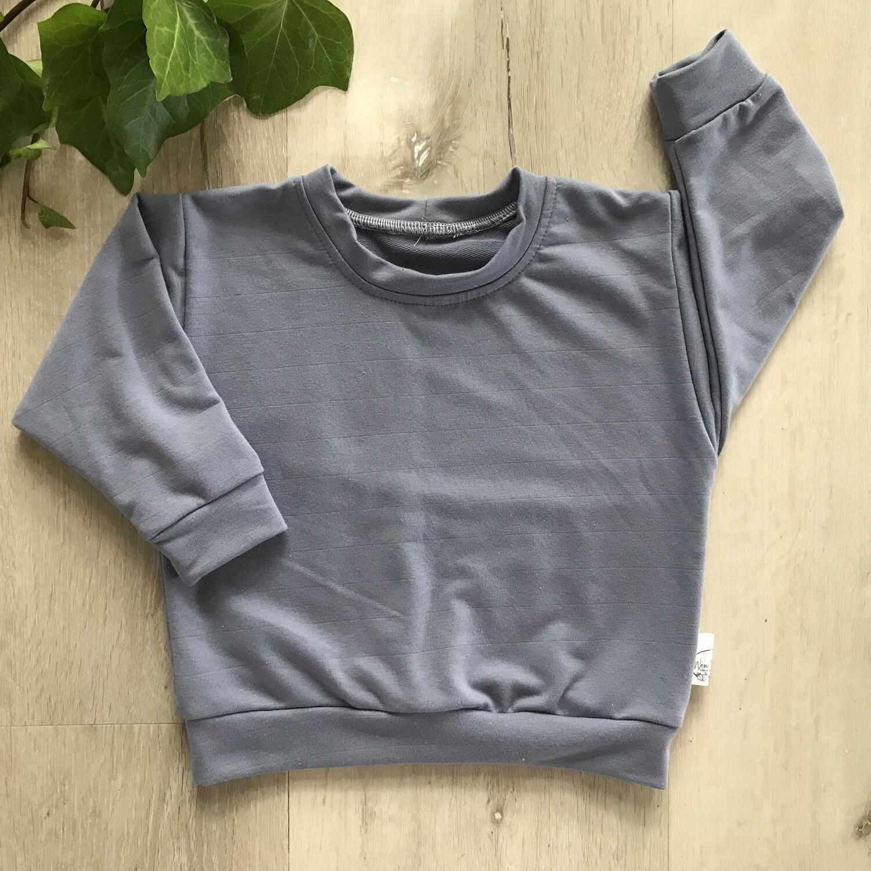 Denim blue lounge sweater