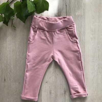Dusty pink joggers