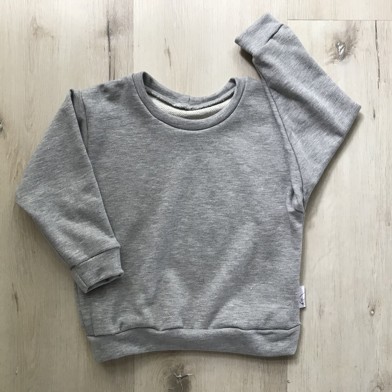 Melange Grey lounge sweater
