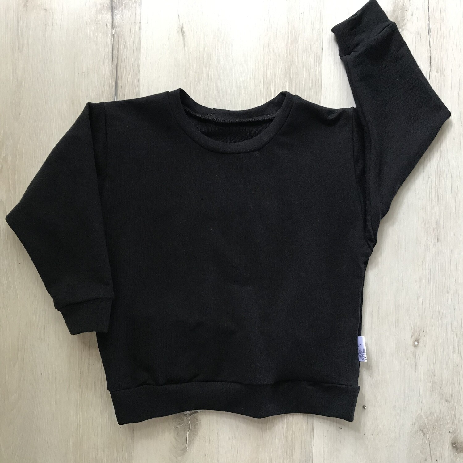 Black lounge sweater