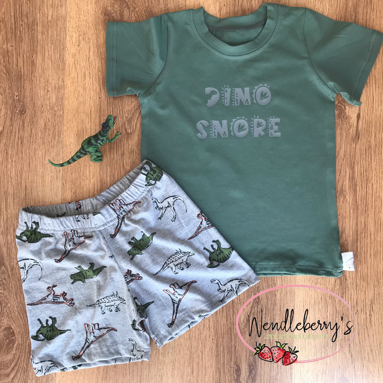 Dino Snore set