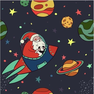 Rocket around the Christmas tree MYSTERY Christmas Set