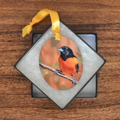 Baltimore Oriole Ornament